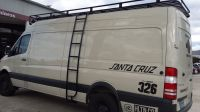 Mercedes Sprinter 4x4 with aluminum off-road roof rack and ...