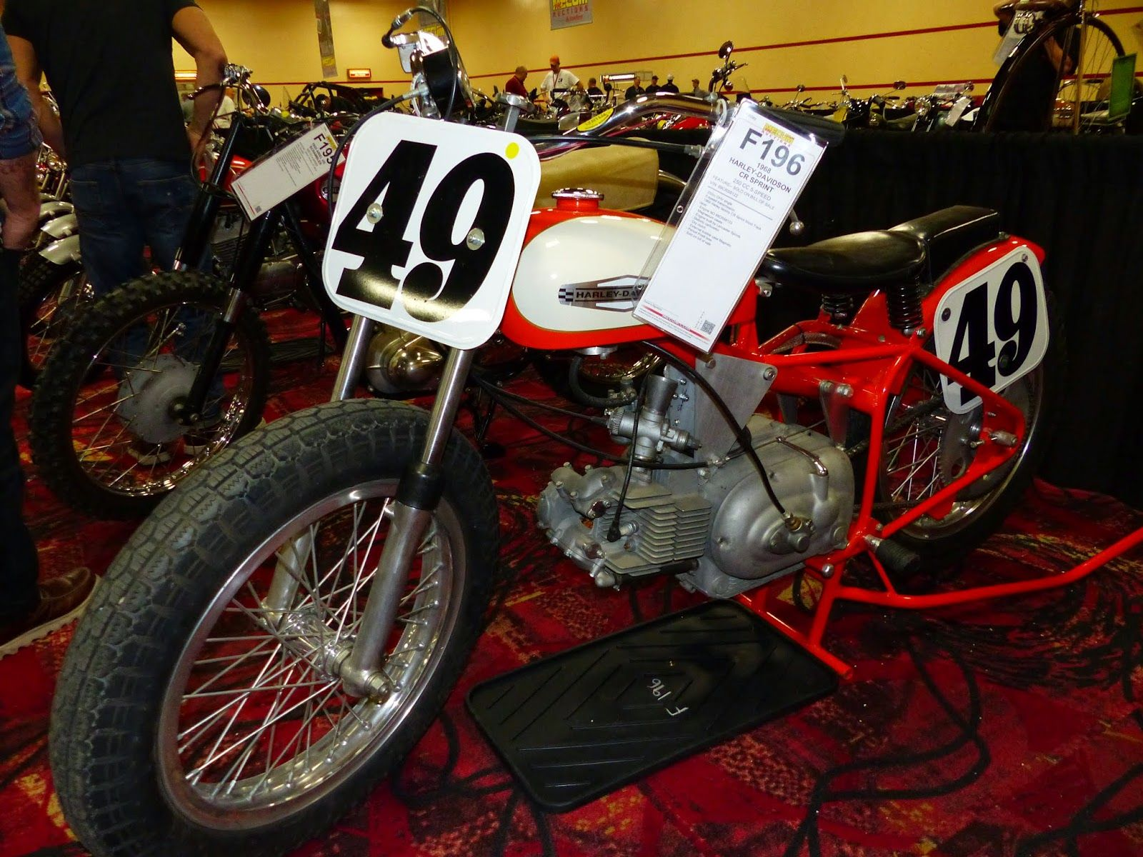 OldMotoDude 1968 Harley Davidson Aermacchi CR250 for sale at t