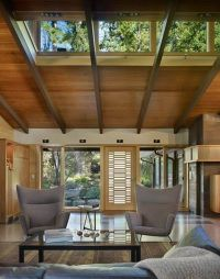 love the clerestory-windows and the wood ceiling | Dream ...