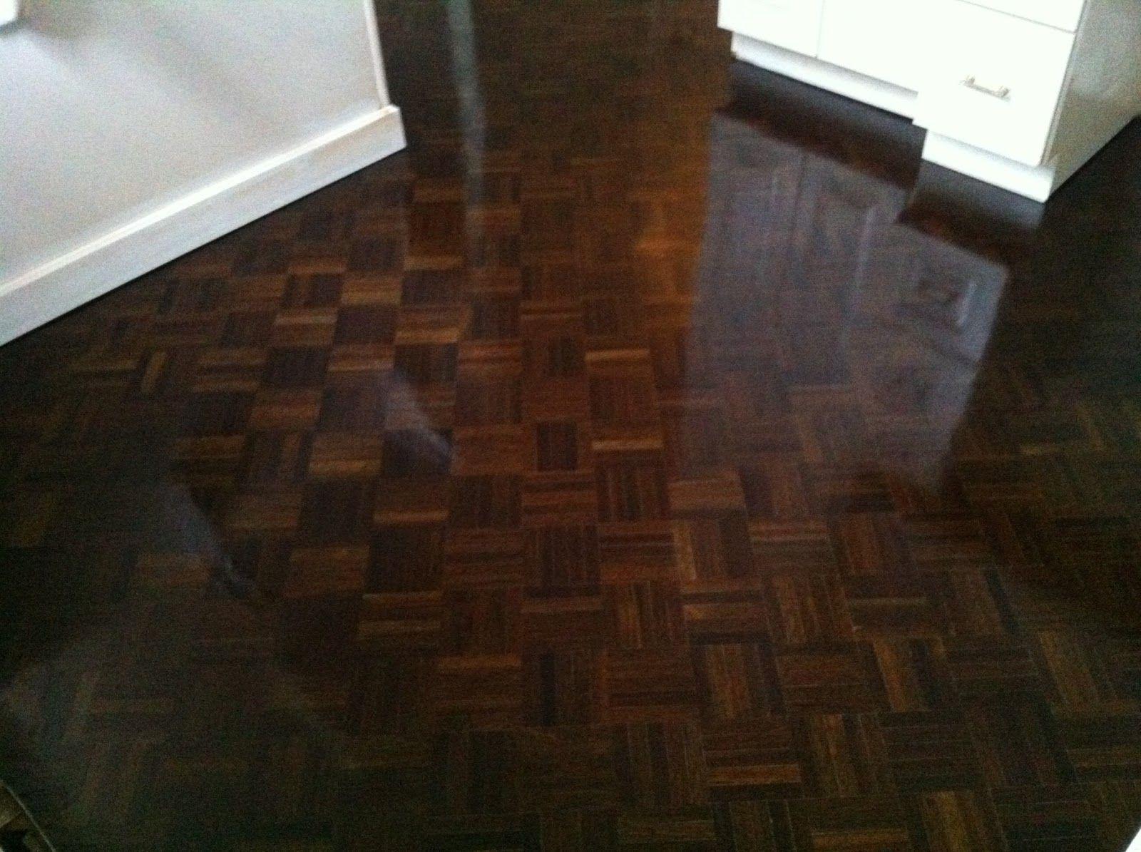 dark parquet floor stain  flooring  Pinterest