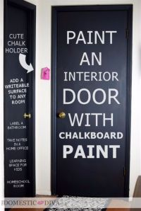 52 DIY Chalkboard Paint Ideas for Furniture and Decor ...
