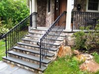 Decorative Wrought Iron Porch Railing | WROUGHT IRON ...