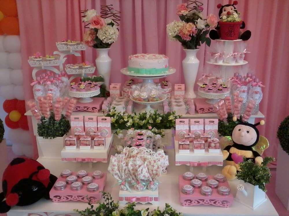 Enchanted Garden Baby Shower Party Ideas Gardens Baby Shower