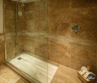 large slate tile for shower   Walnut travertine tiles ...