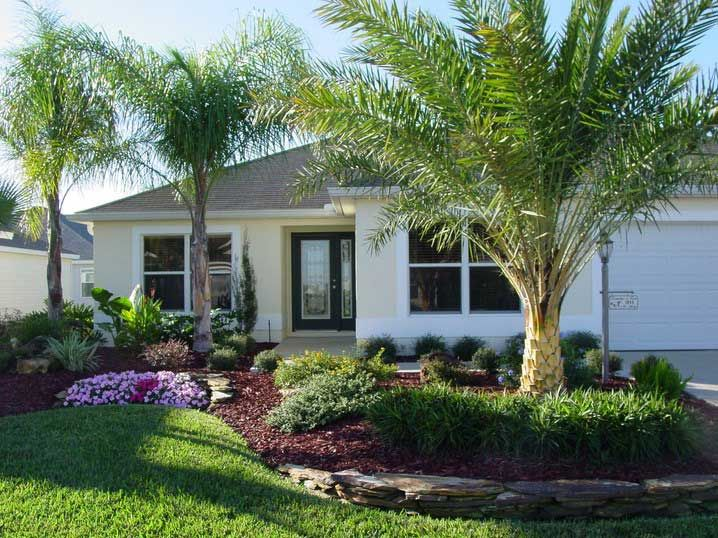 Decorative Tropical Landscaping Ideas For Front Yard Garden Design