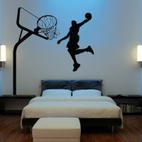 HUGE Basketball Wall Decal Decor Art Stickers by ...