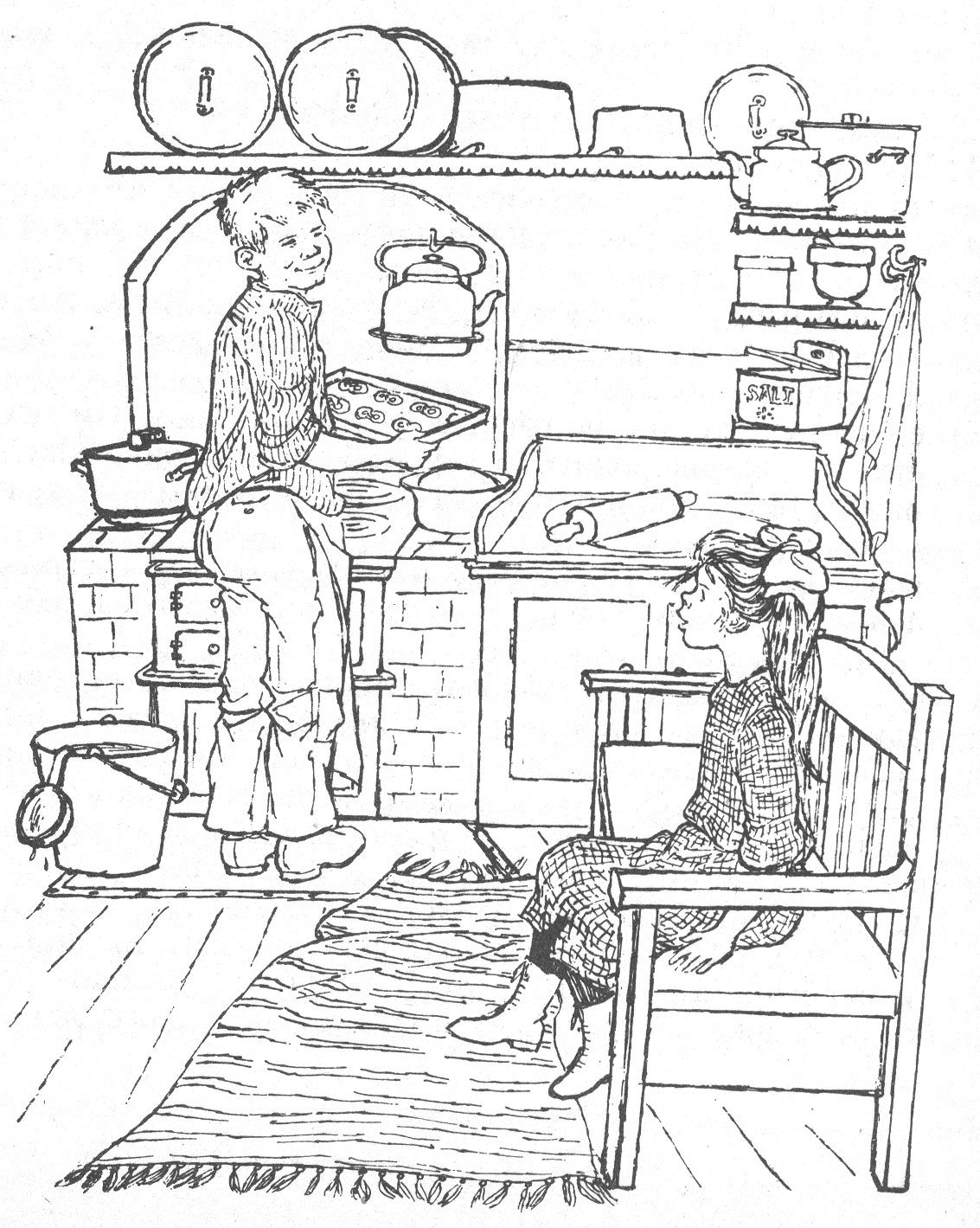 Malvorlagen Astrid Lindgren