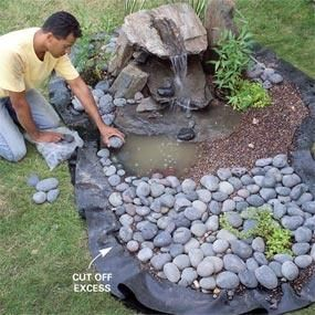 How To Build A Low Maintenance Water Feature Landscaping Garden