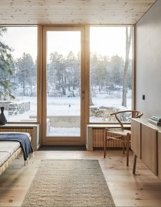 Bright new swedish beach house also beautiful design and furniture rh pinterest