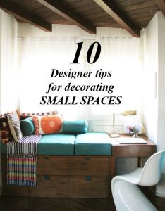 designer tips for decorating small spaces also house rh uk pinterest