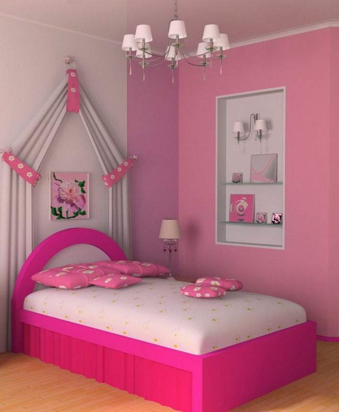 S Room Wall Color Beautiful Bedroom Ideas Pink Home Decor 15404