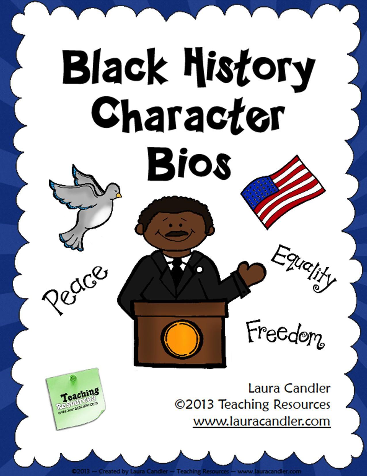 Black History Month Bios