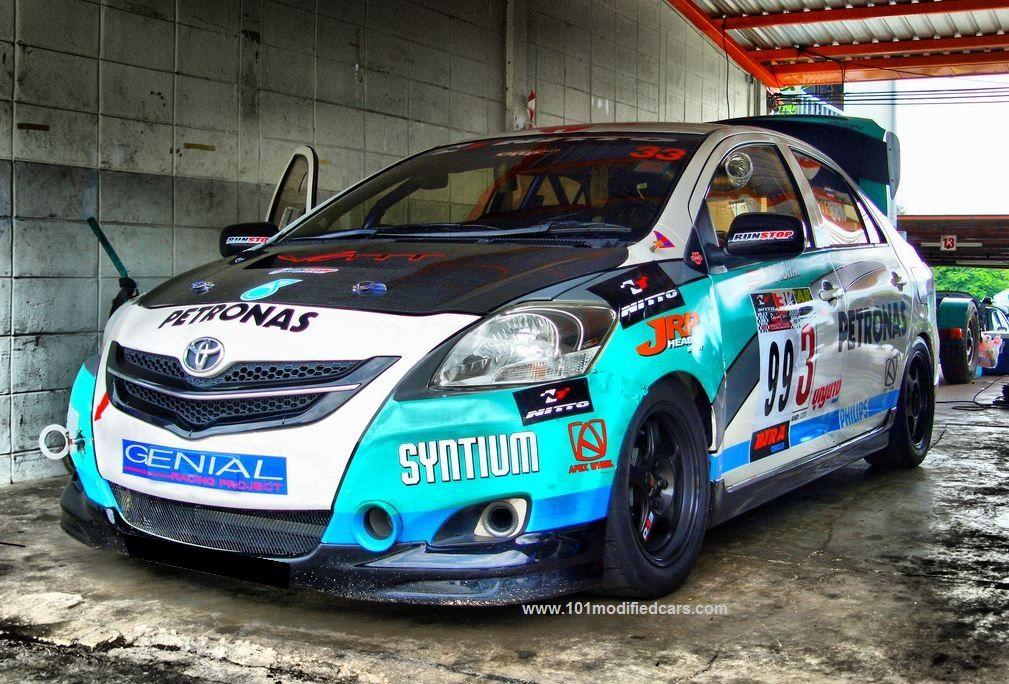 2007 Sedan Yaris Modified Toyota