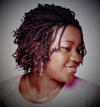Kinky Twists Braids Hairstyles | Fade Haircut