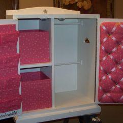 18 Doll Sofa Diy Caster Legs Closet Ideas For Pretty Wardrobe American Girl ...