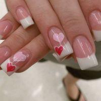 Valentines day nail simple nail art | Nail Ideas ...