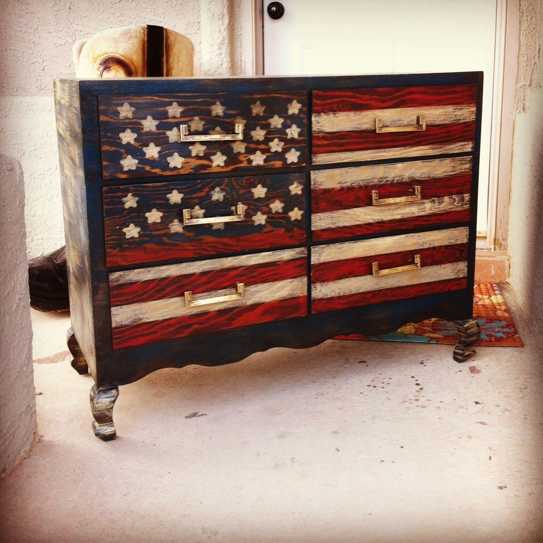 american flag chair youth swivel patriotic dresser furniture pinterest