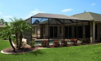 New Pool Enclosure we installed | Southern Aluminum ...