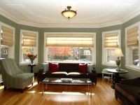 Portage Park 1920's Chicago bungalow modern furniture in ...