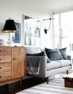 Shop domino for the top brands in home decor and be inspired by celebrity homes famous interior designers is your guide to living with style also beautiful gray blue colors of this room mid century rh pinterest