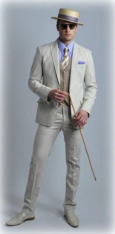 1920s Great Gatsby Mens Fashion