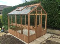 Cotswold Classic 6x6 Wooden Greenhouse | Wooden ...