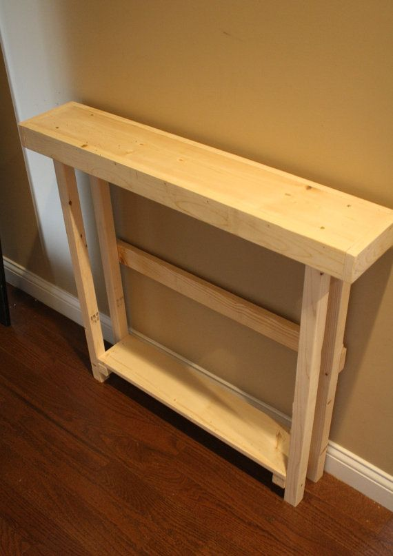 Skinny Side Tall Table
