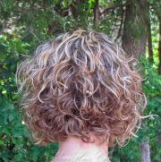 short permed hairstyles