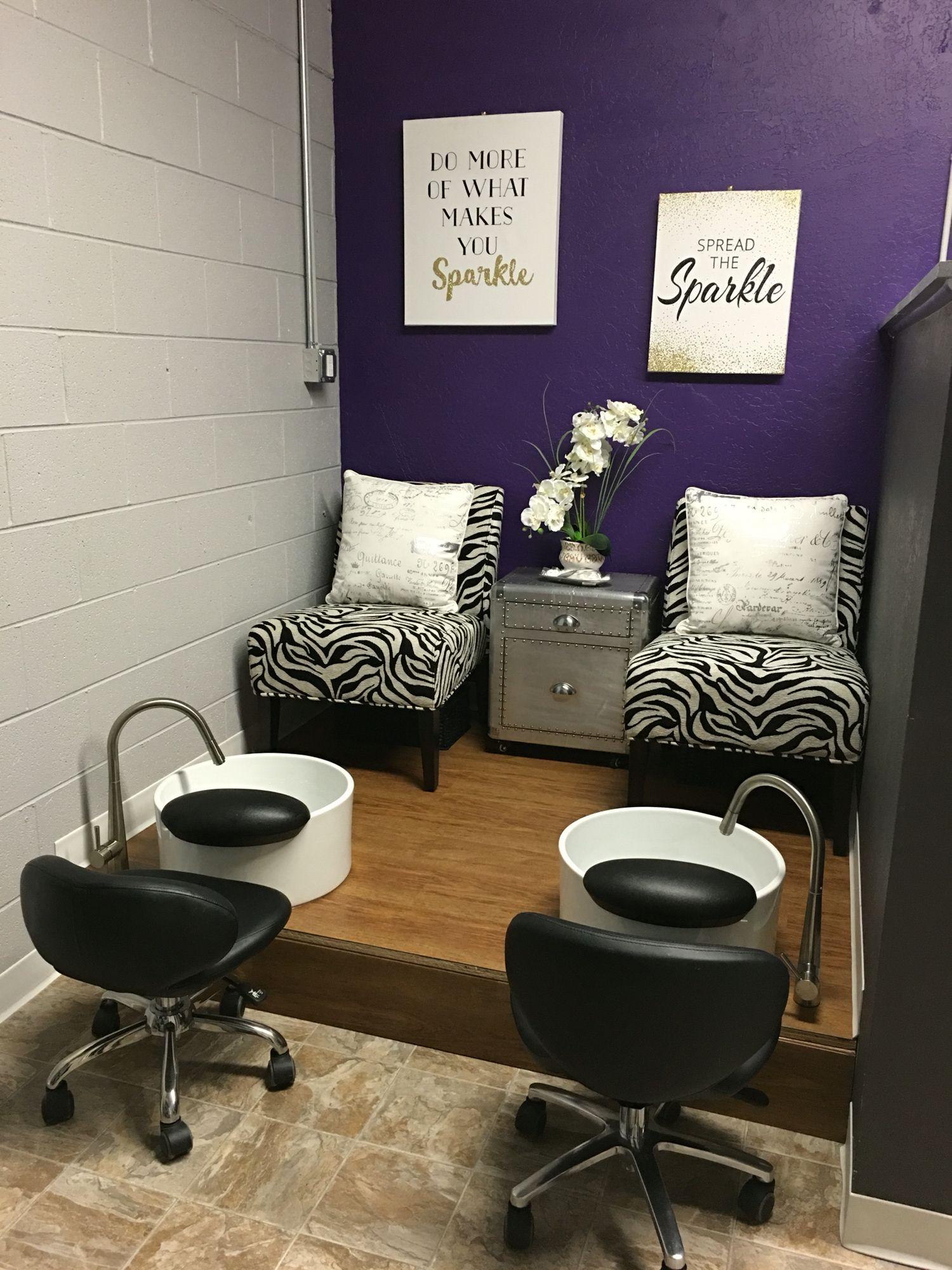 Pedicure StationTrs Chic Hair  Nail Salon Missoula MT
