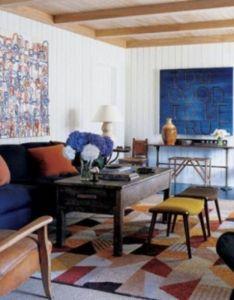 interesting geometry design ideas for your living room also rh pinterest