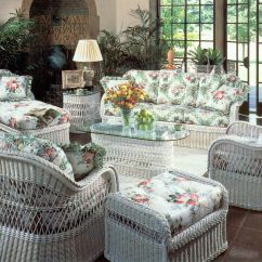 White Wicker Sofa For Sale How To Clean Dirt Off Leather Henry Link Furniture The Home