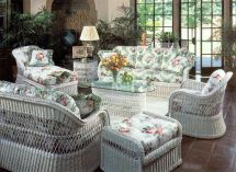 Henry Link White Wicker Furniture
