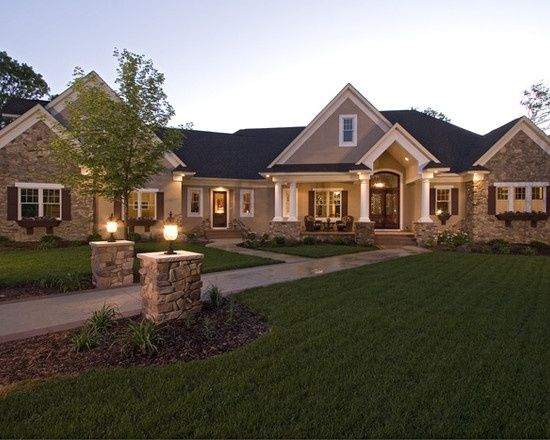 Renovating Ranch Style Homes Exterior Traditional Exterior Ranch