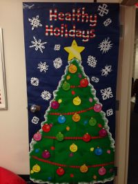Nurses Office Holiday Door Decoration | Bulletin Boards ...