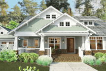 Craftsman House Plan with Front Porch