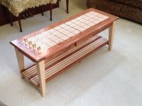 Cribbage board coffee table | Cribbage Boards | Pinterest ...