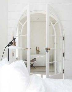 All white also home sweet pinterest gold bedroom rh