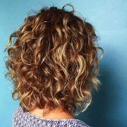 curly layered pinteres