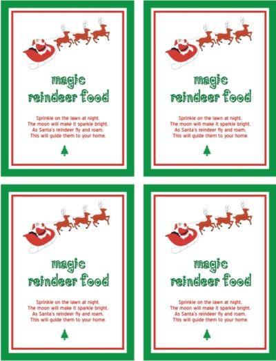 Printables Poem Dust Reindeer