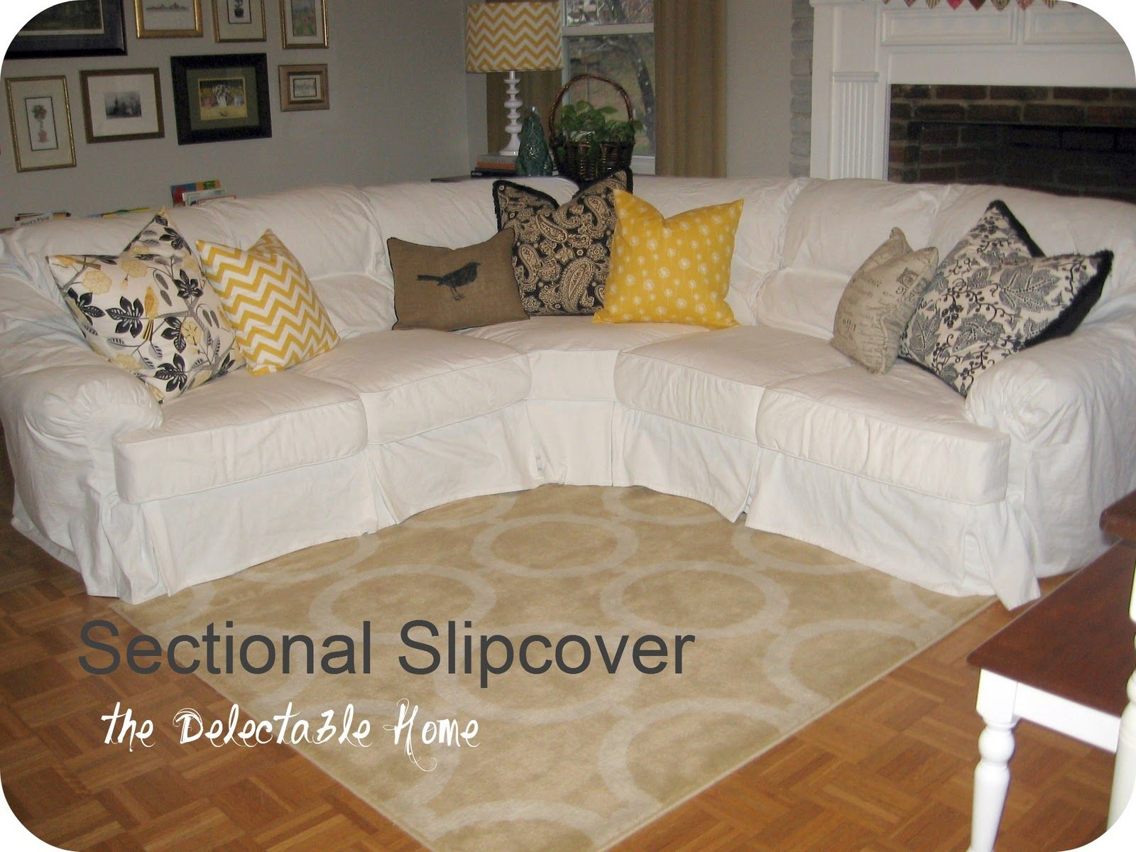 leather sofa cushions made to measure walmart reclining the delectable home impossible sectional slipcover sew