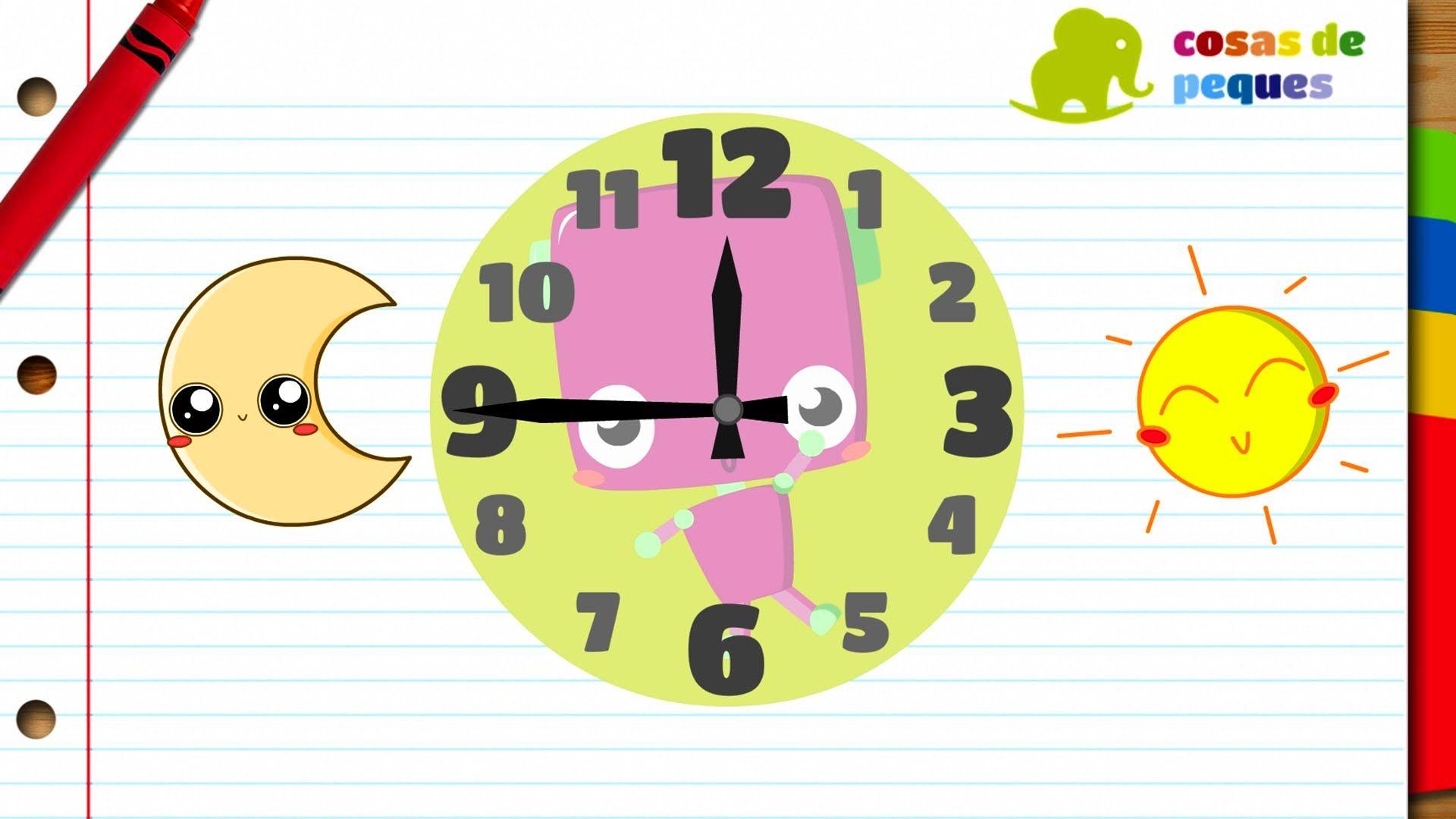 Este Video Educativo Sirve Para Ensear A Los Ninos La Hora