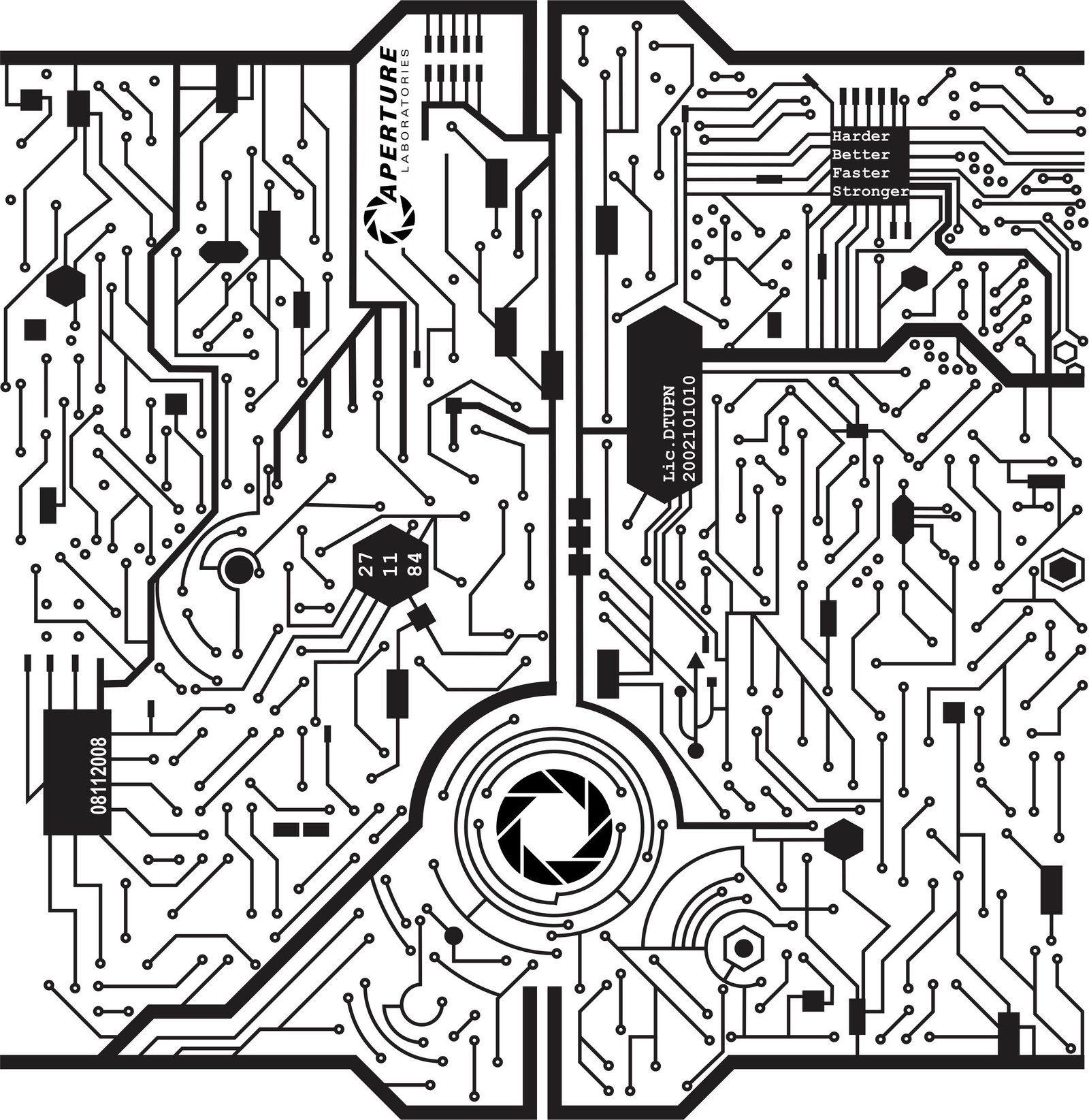 Circuit Tattoo Sketch By Kmykse84viantart On
