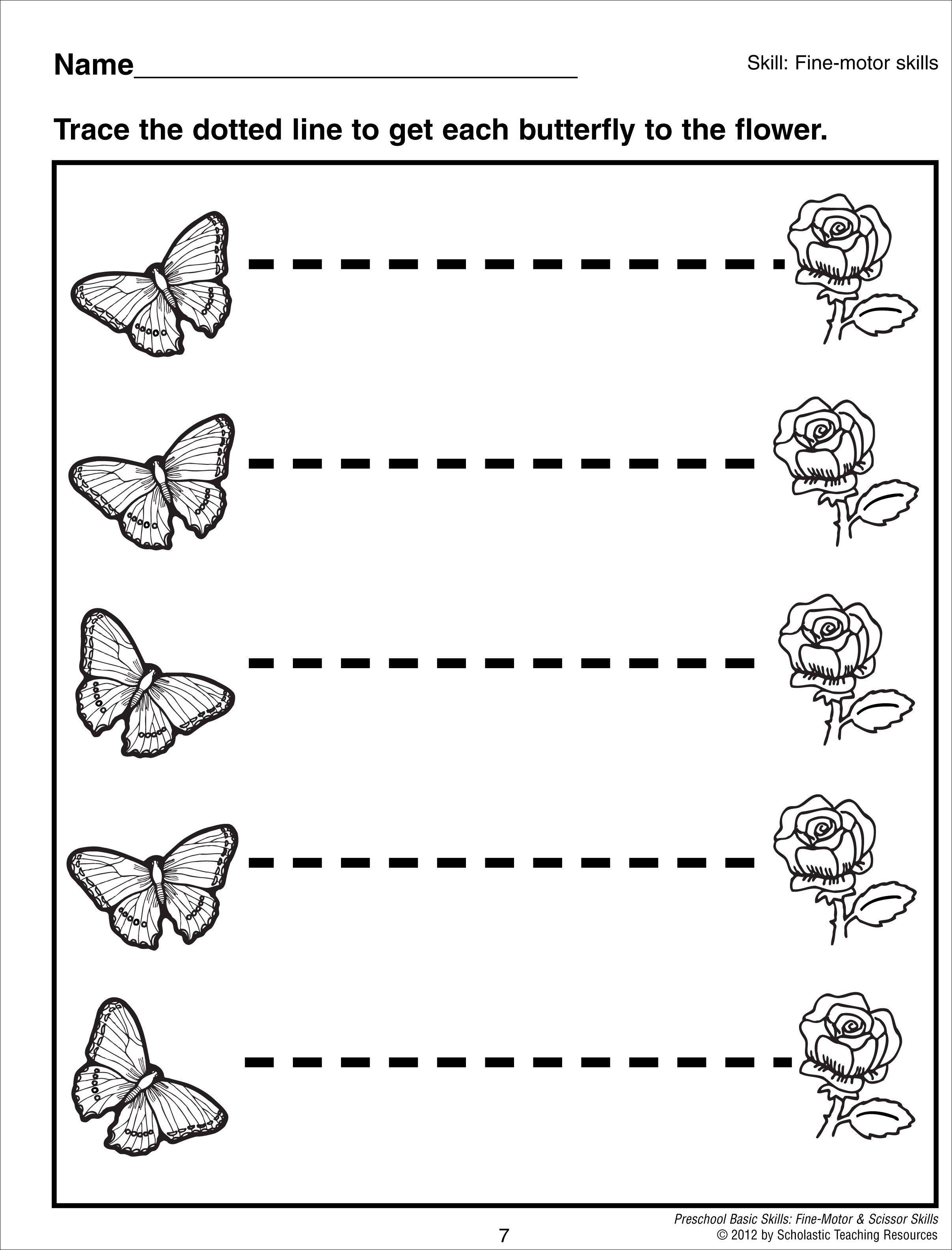 Lines Worksheet Grade 6