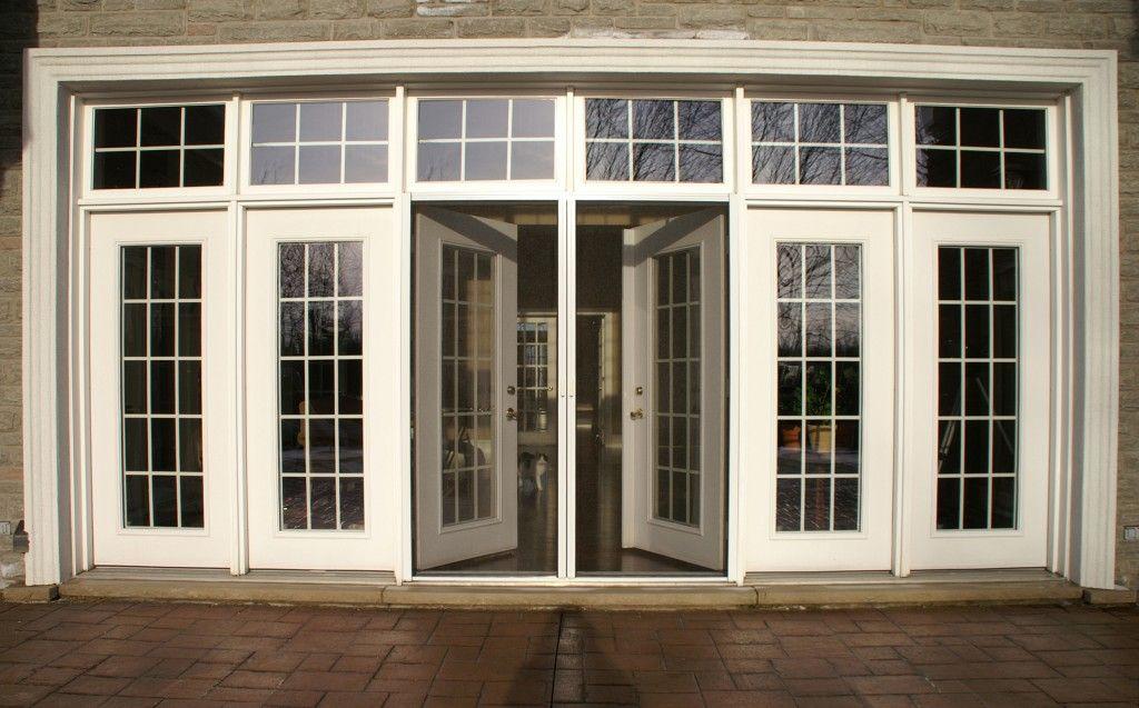 Marvelous Screen Door Design for French Door