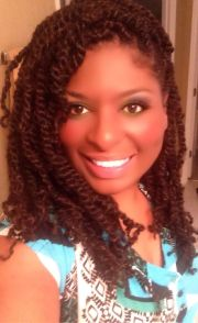 puffy afro twist natural hair