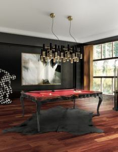 Presenting at maison et objet the best home office designs with our royal snooker table also by boca do lobo made from wood carved legs in  rh pinterest