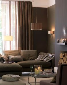 Cozy living rooms also rich brown room love the logs in fireplace with rh za pinterest