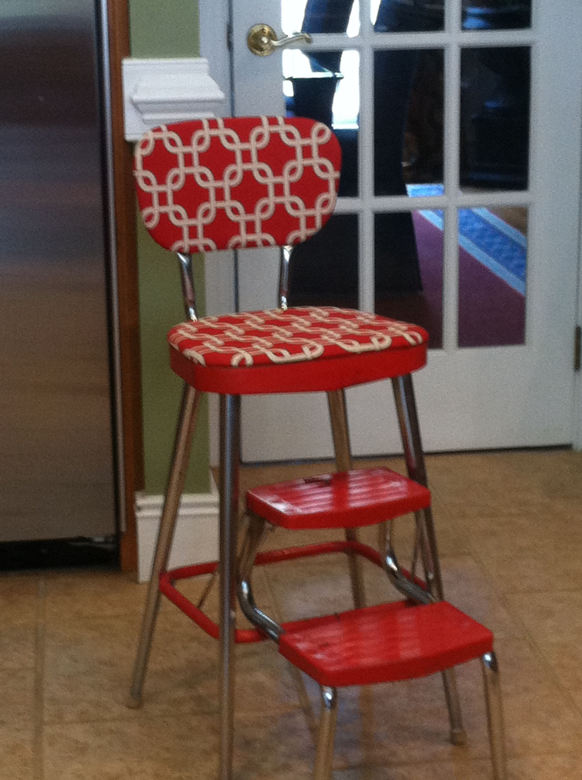 vintage kitchen step stool chair stainless steel shelves for after pinterest best stools