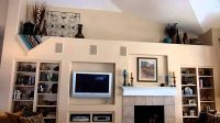 Decorating Vaulted Ledges | Decorating in high places ...