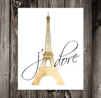 Paris Art, Eiffel Tower Decor, Paris Bedroom Decor, Paris ...
